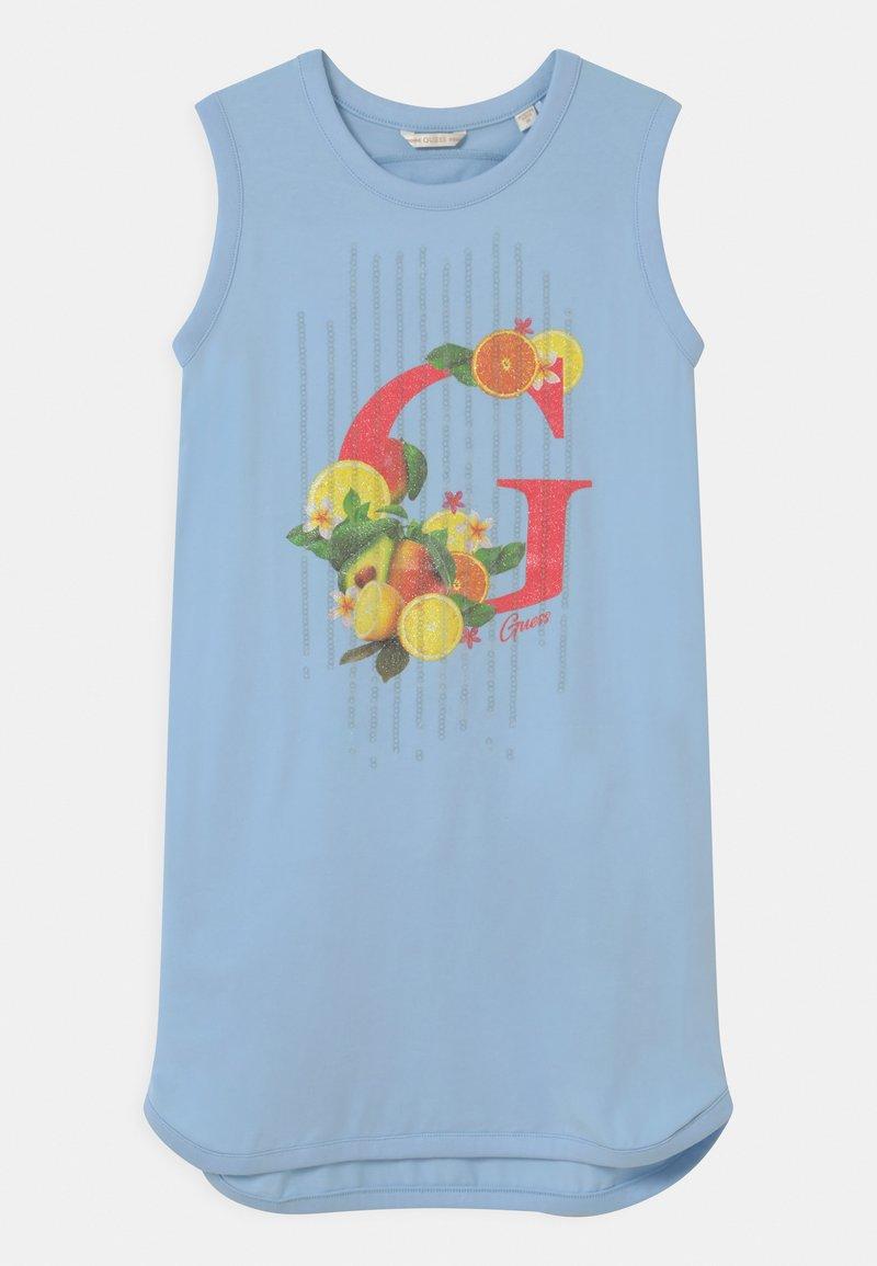 Guess - JUNIOR STRETCH - Jersey dress - starlight blue