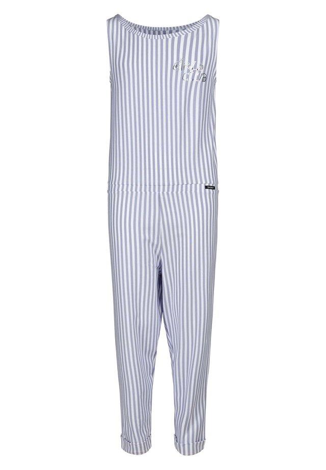 MIT MODISCHEM STREIFEN-MUSTER - Pyjamas - lilac stripe