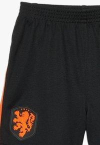 Nike Performance - NIEDERLANDE KNVB I NK BRT KIT AW SET - Sports shorts - black/safety orange - 4