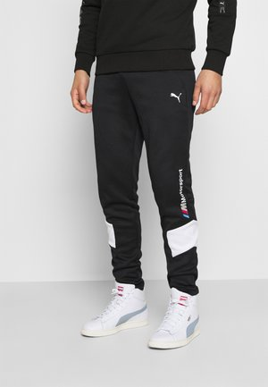 BMW TRACK PANTS - Tracksuit bottoms - black