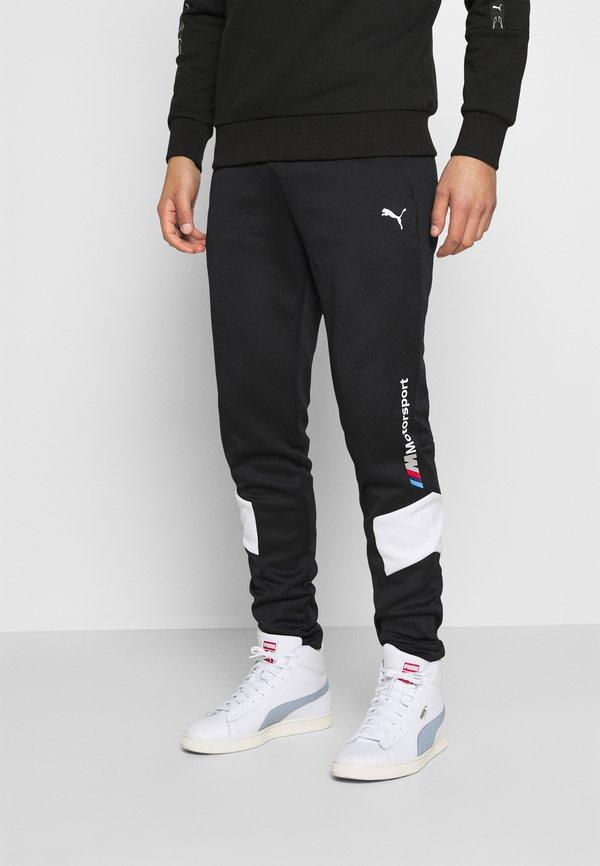 Puma BMW TRACK PANTS - Spodnie treningowe - black/czarny Odzież Męska AYIA