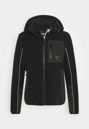 FREESTYLE TECH - Fleece jacket - black