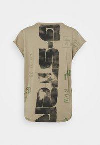 G-Star - GSRAW KNOT  - T-shirt print - hatton contour - 7