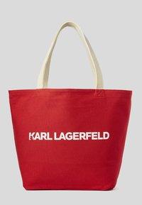 KARL LAGERFELD - ZODIAC - Torba na zakupy - natural - 2