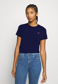 Levi's® - PERFECT TEE - T-shirts med print - blue - 0