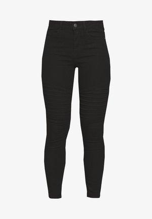 VMHOT SEVEN MR BIKER PANTS - Jeans Skinny Fit - black