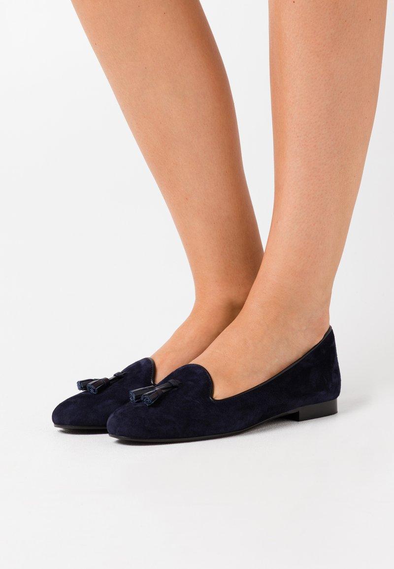 Chatelles - CLASSIC - Nazouvací boty - navy blue