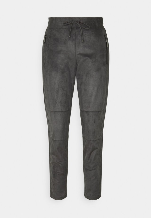 HOSE 7/8 - Trousers - grey