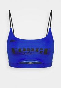 Nike Performance - SISTERHOOD - Light support sports bra - hyper royal/black - 5