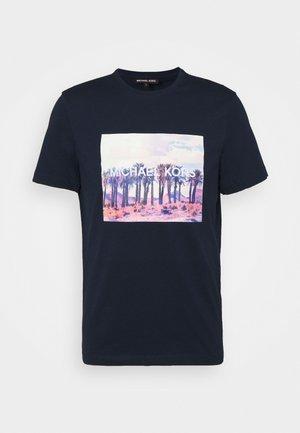TEE - T-shirt imprimé - midnight