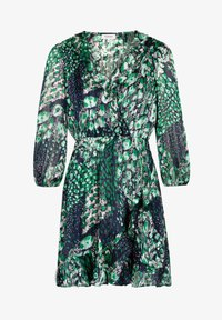 Morgan - WITH ABSTRACT PRINT - Day dress - dark blue - 4