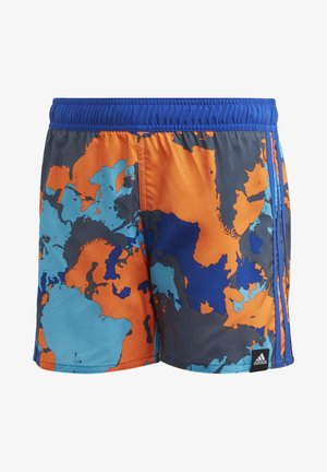 BOYS CAMO SWIM SHORTS - Swimming shorts - blue