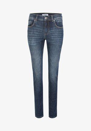 SKINNY DESTROYED GLAM - Jeans Skinny Fit - blue denim