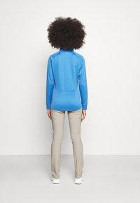 Callaway - MIDWEIGHT WAFFLE - Zip-up sweatshirt - blue tattoo heather - 2