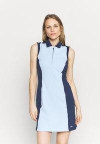 Kjus - WOMEN SUSI DRESS - Sports dress - cloud blue/atalanta blue - 0