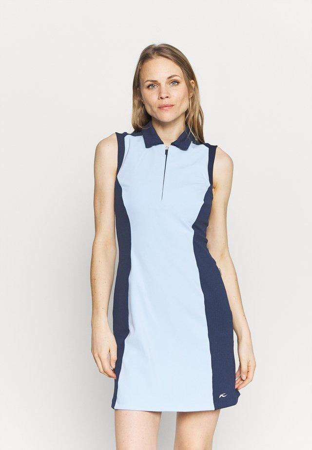 WOMEN SUSI DRESS - Robe de sport - cloud blue/atalanta blue
