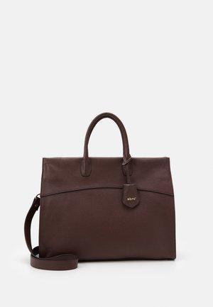NORA - Handbag - dark brown