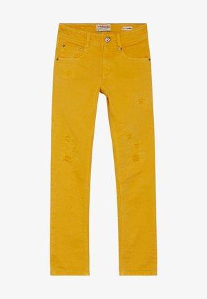 AZADANE - Skinny džíny - warm yellow