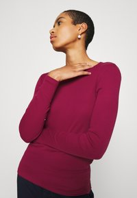 Benetton - Long sleeved top - burgandy - 3