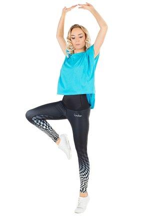 HWL102 SCHACHMATT HIGH WAIST -TIGHTS - Leggings - schachmatt