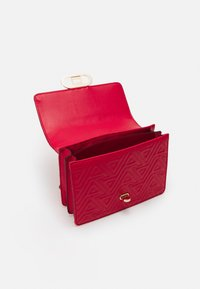 ALDO - GALILIVIEL - Across body bag - mars red - 2