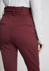Vero Moda - VMEVA LOOSE PAPERBAG PANT - Trousers - port royale - 5