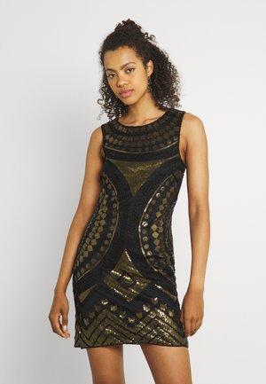 LADIES DRESS - Cocktail dress / Party dress - gold-coloured