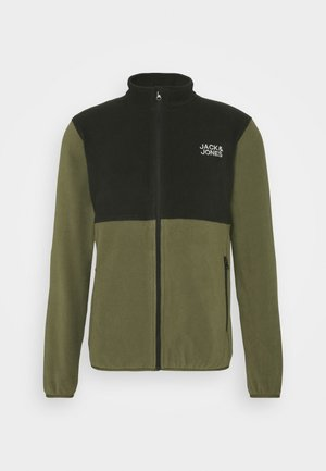 JJHYPE - Giacca in pile - dusty olive