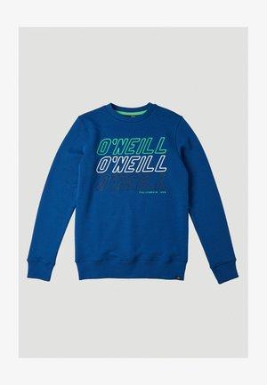 ALL YEAR CREW - Sweatshirt - darkwater blue option b
