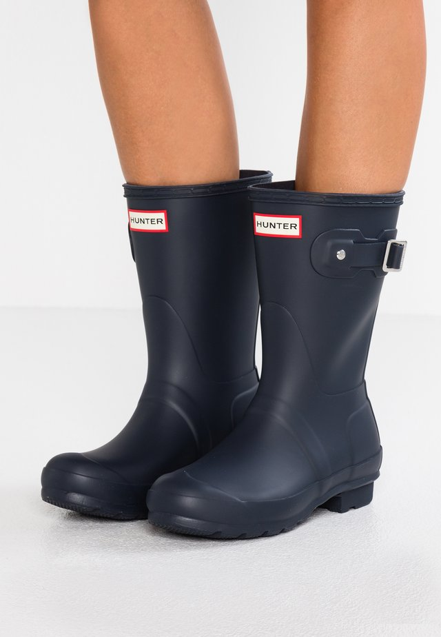 ORIGINAL SHORT VEGAN - Wellies - Gummistøvler - navy