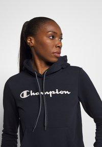 Champion - ESSENTIAL HOODED LEGACY - Huppari - dark blue - 3