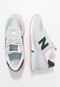 New Balance - WL574 - Trainers - grey/pink - 3