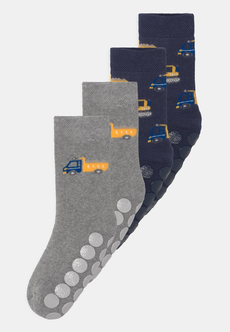 Ewers - TRUCK 4 PACK - Socks - blue/grey