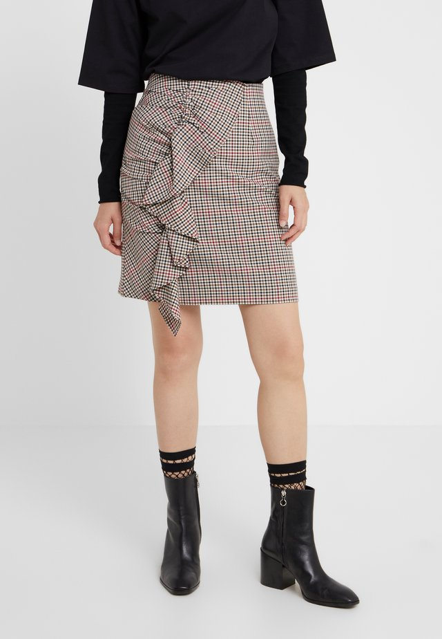 IVANA SKIRT - Spódnica mini - multicolour