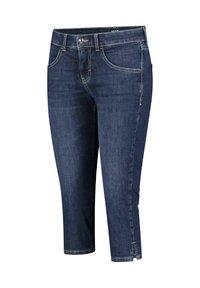 MAC Jeans - GRETA - Denim shorts - blueblack - 2