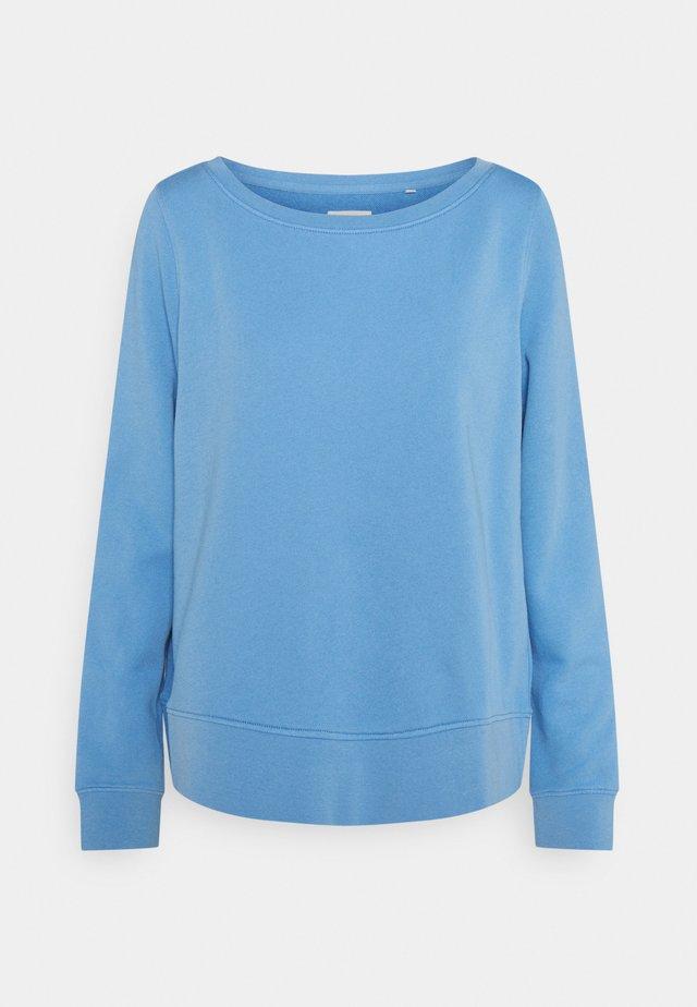 LONG SLEEVE ROUND NECK - Sweatshirt - washed cornflower