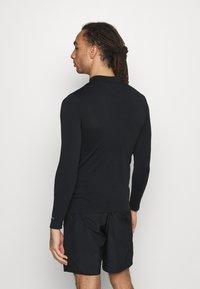 Endurance - JARO SEAMLESS MIDLAYER - T-shirt à manches longues - dark grey melange - 2