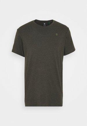 BASE-S R T S\S - T-shirt - bas - asfalt htr