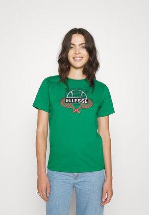 TEENA - Print T-shirt - green