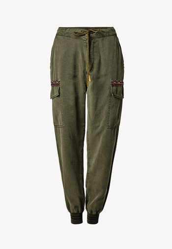 TRIBECA - Cargo trousers - green