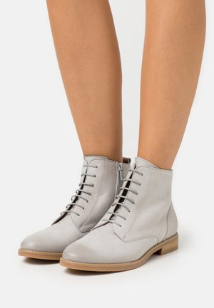 LEATHER - Ankelboots - light grey
