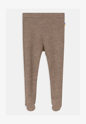 UNISEX - Leggings - Trousers - beige melange
