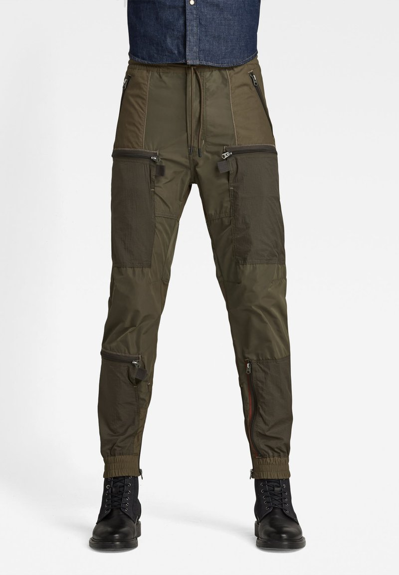 G-Star - PM CB RELAXED CUFFED TRAINER - Trousers - combat
