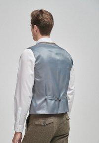 Next - Suit waistcoat - brown - 1