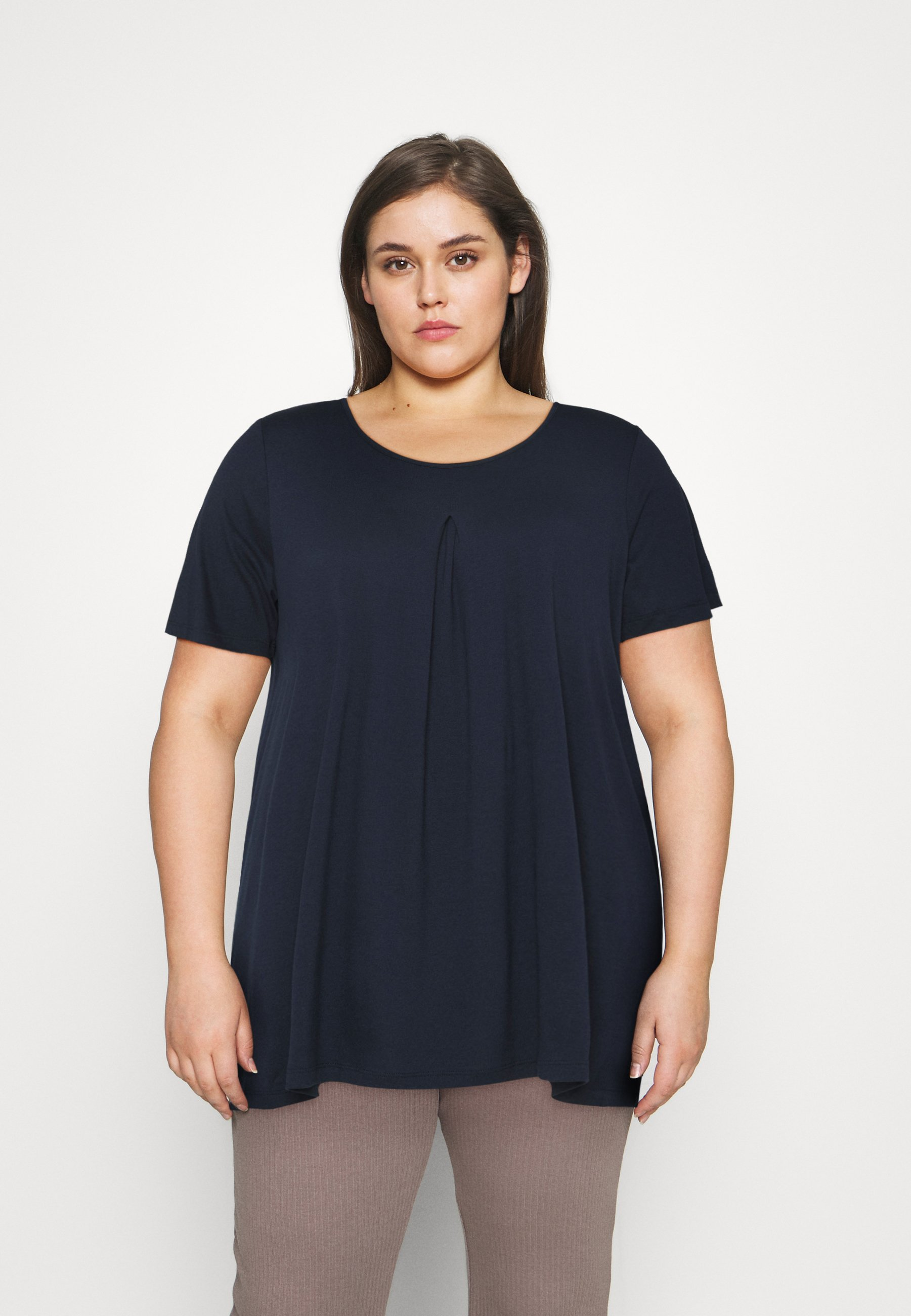 Damen WITH PLEAT AT FRONT - T-Shirt basic