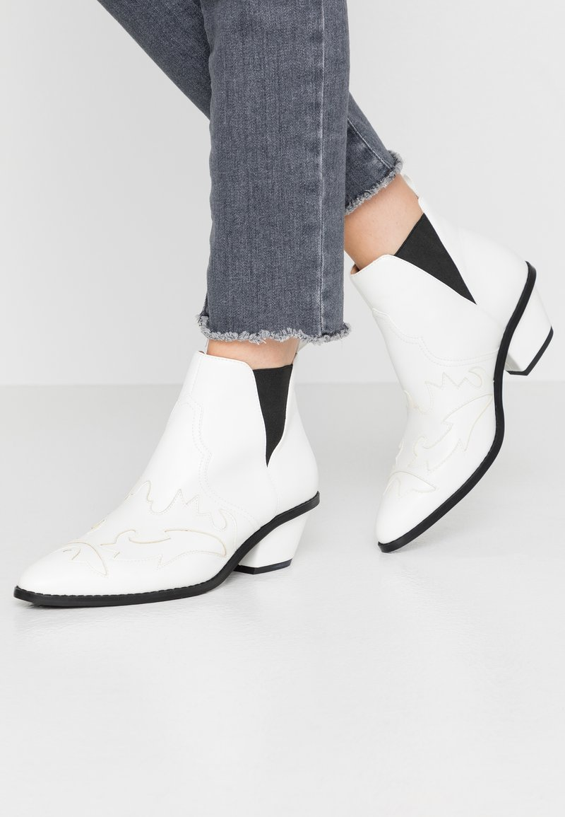 NA-KD - Ankle boots - white