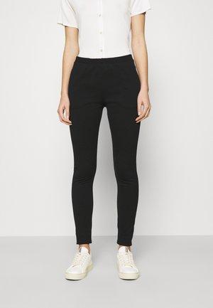 MON PANT - Trousers - black