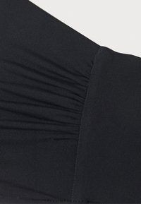 Seafolly - CAP SLEEVE BANDEAU - Bikini top - black - 6