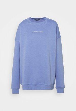 GRAPHIC OVERSIZED - Sweatshirt - lilac