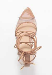 ALDO - AMENABAR - Sandaler med høye hæler - bone - 3